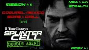 Splinter Cell Double Agent PS2 PCSX2 HD NSA – Миссия 5 Консумель