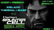 Splinter Cell Double Agent Coop PS2 PCSX2 HD Прохождение – Миссия 1 Исландия – Терм