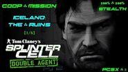 Splinter Cell Double Agent Coop PS2 PCSX2 HD Прохождение – Миссия 1 Исландия – Руины (1 4)