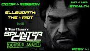Splinter Cell Double Agent Coop PS2 PCSX2 HD Прохождение – Миссия 2 Элсворт – Бунт Мятеж (4 5)