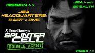 Splinter Cell Double Agent PS2 PCSX2 HD JBA – Миссия 3 Штаб-квартира JBA – Часть первая