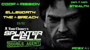 Splinter Cell Double Agent Coop PS2 PCSX2 HD Прохождение – Миссия 2 Элсворт – Брешь (5 5)