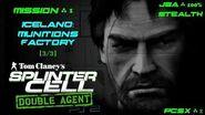 Splinter Cell Double Agent PS2 PCSX2 HD JBA – Миссия 1 Исландия – Фабрика боеприпасов (3 3)