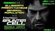 Splinter Cell Double Agent PS2 PCSX2 HD JBA – Миссия 2 Тюрьма Элсворт – Общее население (2 4)