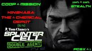 Splinter Cell Double Agent Coop PS2 PCSX2 HD Прохождение – Миссия 3 Киншаса – Склад химик