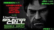 Splinter Cell Double Agent PS2 PCSX2 HD JBA – Миссия 7 Киншаса