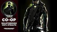 Splinter Cell 3 Chaos Theory Coop PS2 PCSX2 HD Прохождение – Миссия 4 Панама
