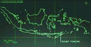 Mapa Indonesia