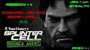 Splinter Cell Double Agent PS2 PCSX2 HD JBA – Миссия 5 Консумель