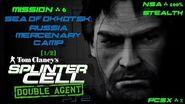 Splinter Cell Double Agent PS2 PCSX2 HD NSA – Миссия 6 Охотск