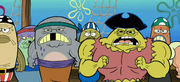 Pirate Team of Mr. Krabs