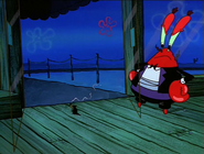 Mr. Krabs Letting Plankton Out