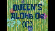 SpongeBob Music Queen's Aloha Oe (c)