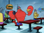 Larry the Lobster in The SpongeBob SquarePants Movie-1
