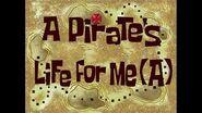 SpongeBob Music A Pirate's Life For Me (a)