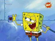 SpongeBob - Pręgowany Sweter