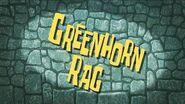 SpongeBob Music Greenhorn Rag