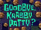 Pożegnanie z kraboburgerem?
