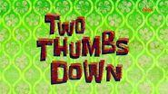 SpongeBob SquarePants - 'Mall Girl Pearl Two Thumbs Down' - Title Cards (Polish)