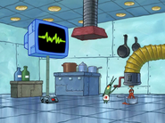 Plankton Making A Chum For Karen