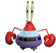Crab Out of Water Render 01