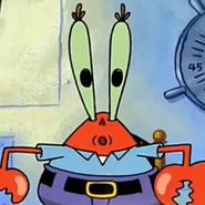 Mr Krabs Box
