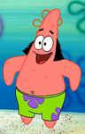 Patrick Wearing Sideburns