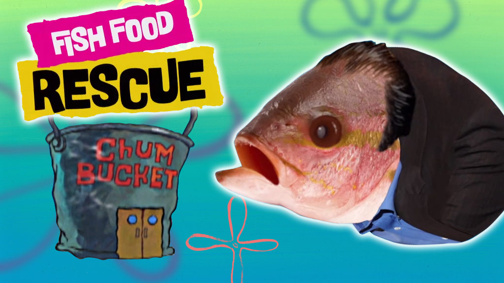 Fish Food Rescue: The Krusty Krab/transcript