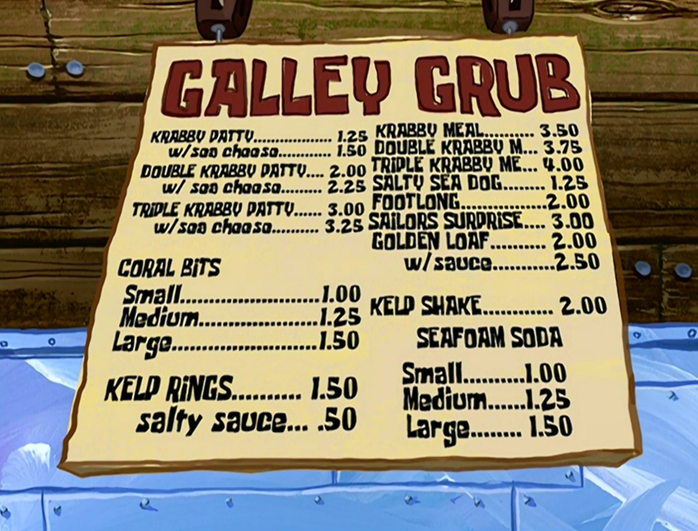 Galley Grub