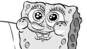 Sponge-stare Storyboard