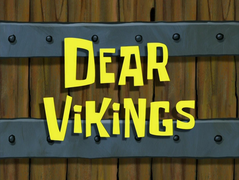 Dear Vikings/transcript