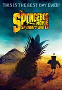 The SpongeBob Movie - Sponge Out of Water Mad Max Fury Road poster