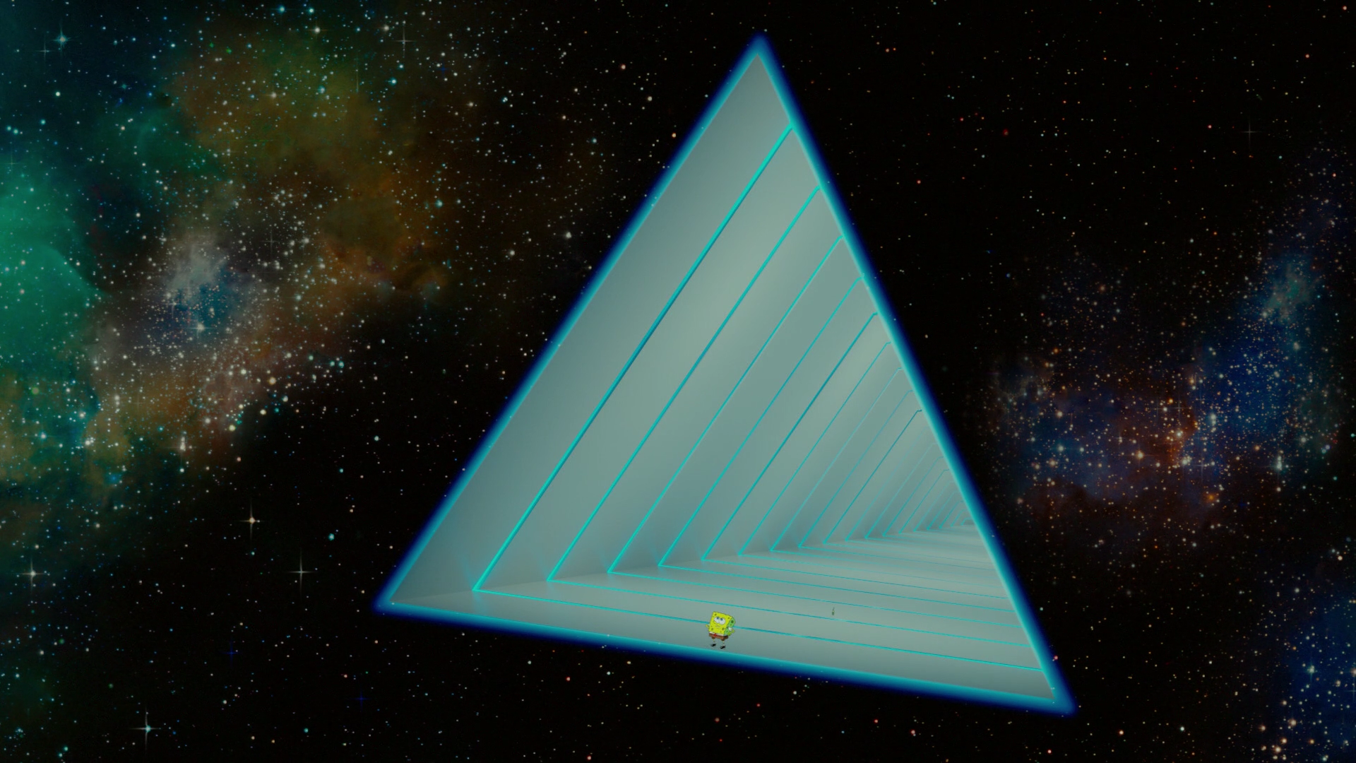 Bubbles' inter-dimensional spacecraft