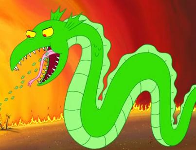 Money dragon