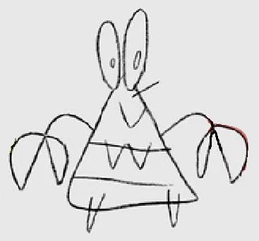 Doodle Mr. Krabs