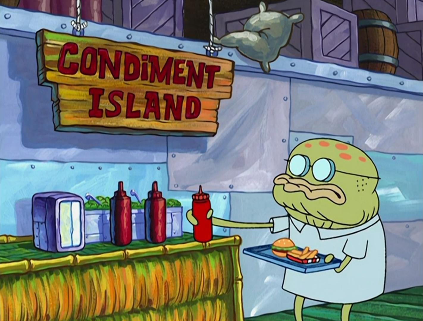 Condiment Island