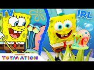 SpongeBob & Patrick Toys Have the BEST DAY EVER! - @SpongeBob SquarePants Official- Toymation