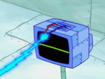 SpongeBob SquarePants Karen the Computer Wire Laser