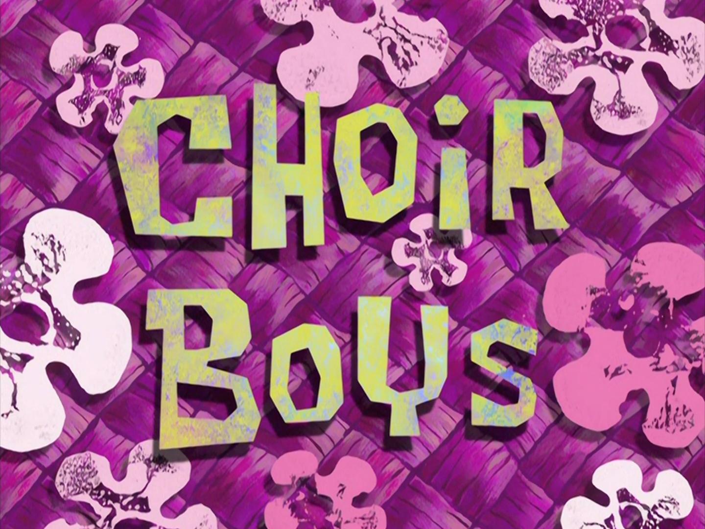 Choir Boys/transcript
