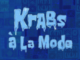 Krabs à la Mode/transcript