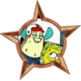 Mrs. Puff's Award for Completing the Boating Exam after 58 Tries