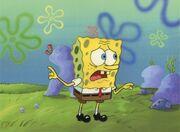 Huge-the-very-best-spongebob-production-cel-texas-5709