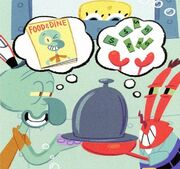 Comics-scheming-Squidward-and-Mr-Krabs