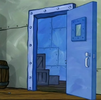 Krusty Krab freezer