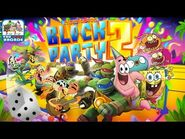 Nickelodeon Block Party 2 - Patrick Star on the TMNT Board (Gameplay, Playthrough)