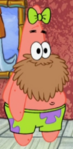 Patrick with a Beard & a Bow