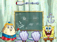 SpongeBob-Mrs-Puff-in-Patrick's-house
