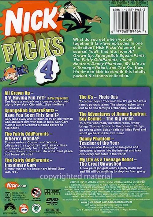 Nick Picks Volume 4