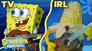 "The ""Campfire Song Song"" IRL! ⛺️🔥 SpongeBob"
