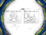 Grandpappy the Pirate storyboard panels-6